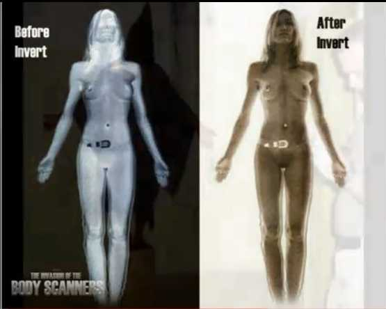 Naked airport Body Scanners